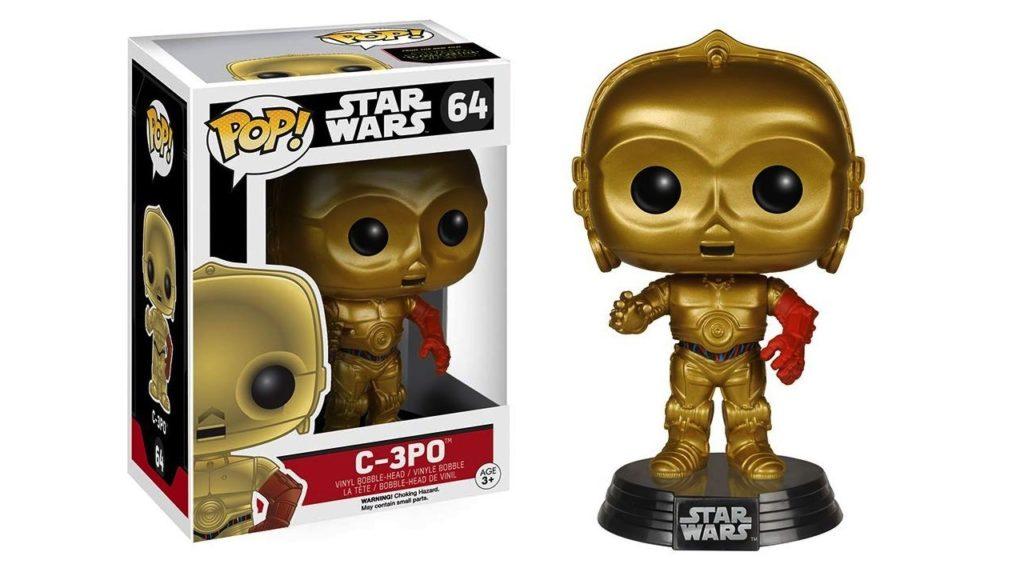 Juguete Star Wars Funko Pop C-3PO