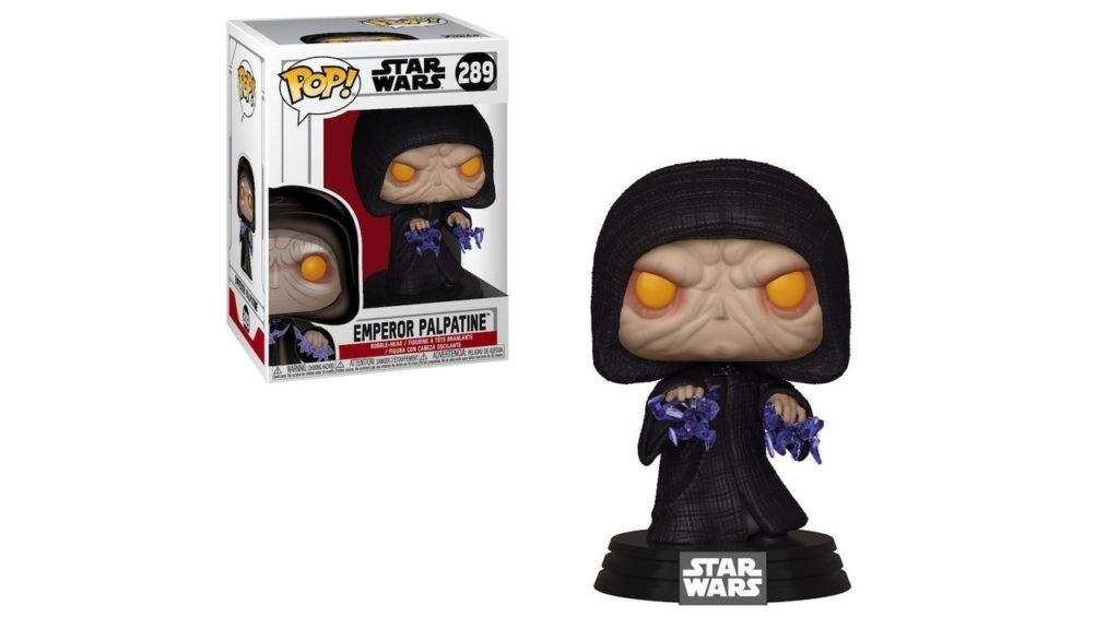Juguete Star Wars Funko Pop El Emperador Palpatine