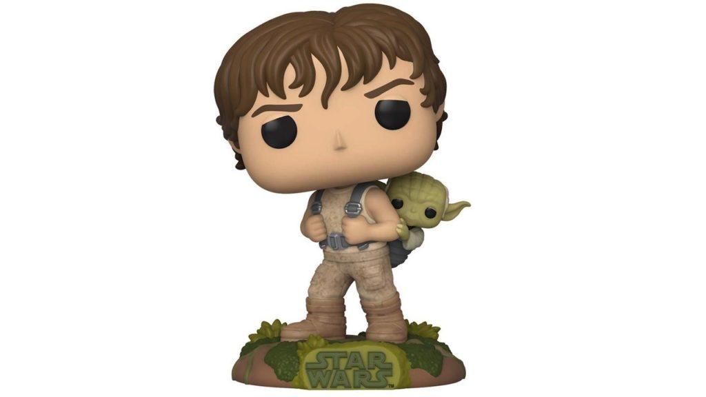 Juguete Star Wars Funko Luke Skywalker con Yoda