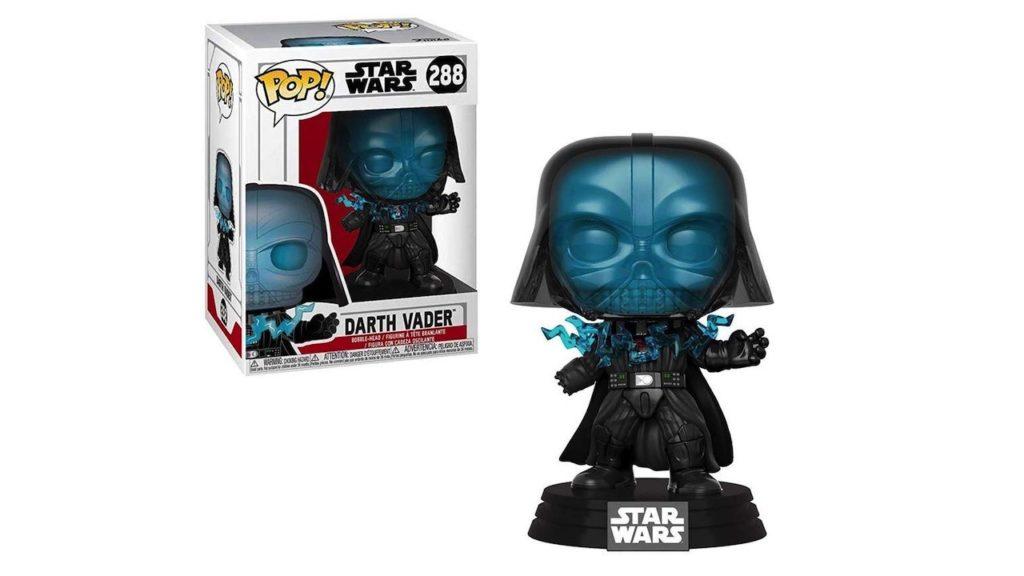 Juguete Star Wars Funko Pop Darth Vader electrocutado