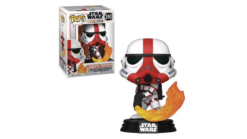 Juguete Star Wars Funko Pop Incinerator Stormtrooper