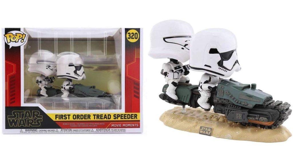 Juguete Star Wars Funko Pop First Order Tread Speeder