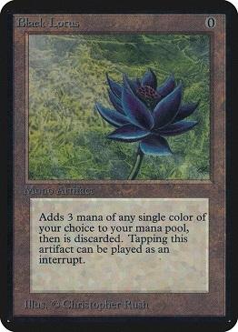 Carta Magic The Gathering Black Lotus