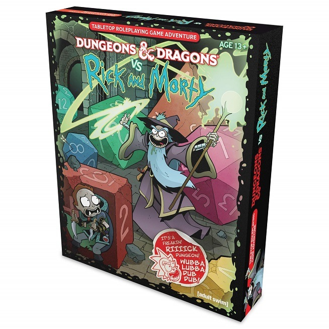 Caja de D&D vs Rick & Morty Starter Set