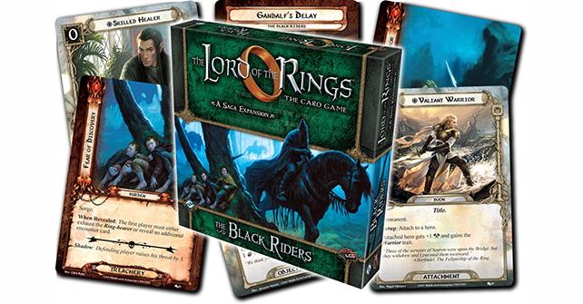El Señor de los Anillos el juego de cartas lcg Caja expasion de saga 2