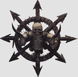 Simbolo Guerreros del Caos Total War Warhammer II