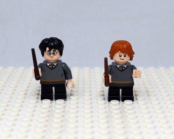 LEGO Harry Potter figuras Harry Potter y Ron
