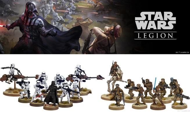 Star Wars Legión Core Sets Imperio Rebeldes