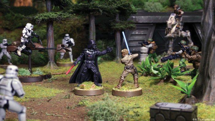 Star Wars Legión Core Sets Rebeldes Imperio Dark Vader Luke