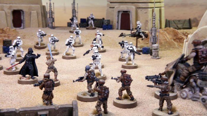 Star Wars Legión Core Sets Rebeldes Imperio batalla
