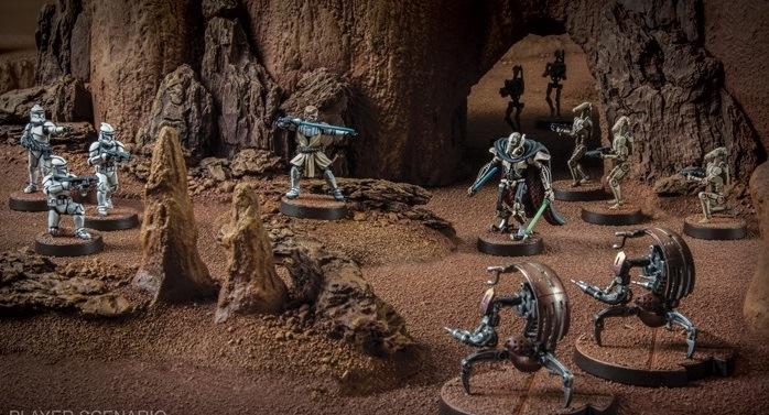 Star Wars Legión Core Sets republica Separatistas