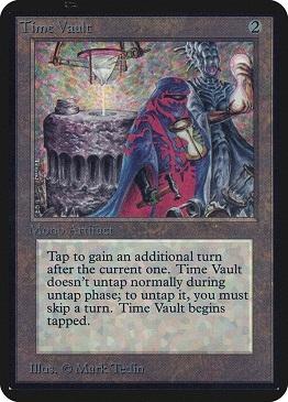 Carta Magic The Gathering Time Vault