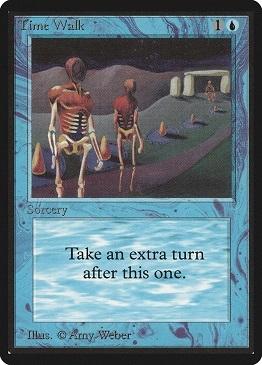 Carta Magic The Gathering Time Walk