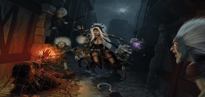 dungeons and dragons pathfinder brujas
