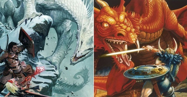 dungeons and dragons pathfinder comparativa