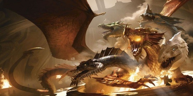 dungeons and dragons pathfinder dragones