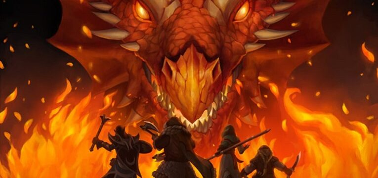 dungeons and dragons pathfinder fuego dragon
