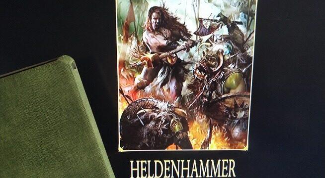 libro La leyenda de Sigmar, Heldenhammer. Graham McNeill
