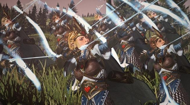 total war warhammer 2 mods 2020 arqueras elfas