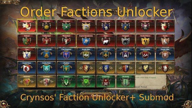total war warhammer 2 mods 2020 facciones nuevos mods